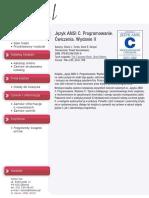 Język ANSI C. Programowanie. Ćwiczenia. Wydanie II