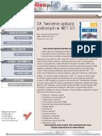 C#. Tworzenie aplikacji graficznych w .NET 3.0