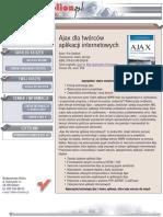 Ajax dla twórców aplikacji internetowych