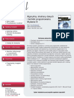 Algorytmy, struktury danych i techniki programowania. Wydanie IV