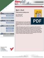 MP3 i DivX. Ćwiczenia praktyczne