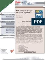 PHP. 101 praktycznych skryptów. Wydanie II