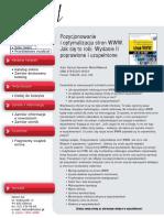 Pozycjonowanie i optymalizacja stron WWW. Jak się to robi. Wydanie II poprawione i uzupełnione