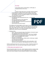 BI Survey Report Relevent Info(Sem 3)