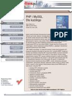 PHP i MySQL. Dla każdego