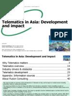 TelematicsinAsiaDevelopmentImpact