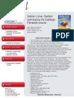 Debian Linux. System operacyjny dla każdego. Pierwsze starcie