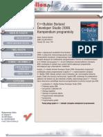 C++Builder Borland Developer Studio 2006. Kompendium programisty