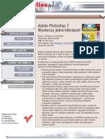 Adobe Photoshop 7. Wystarczy jedno kliknięcie!
