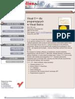 Visual C++ dla programujących w Visual Basicu