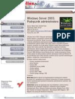 Windows Server 2003. Podręcznik administratora