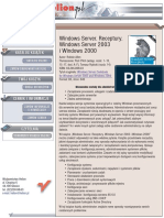 Windows Server. Receptury. Windows Server 2003 i Windows 2000