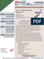 Python. Wprowadzenie. Wydanie III