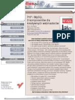 PHP i MySQL. 8 komponentów dla kreatywnych webmasterów