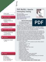 PHP, MySQL i Apache. Intensywny trening