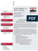 Oracle Database 11g. Nowe możliwości