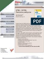 HTML i XHTML. Ćwiczenia praktyczne