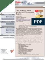 Tworzenie stron WWW we Flashu CS3 Professional. Projekty