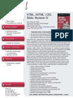 HTML, XHTML i CSS. Biblia. Wydanie IV