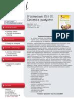 Dreamweaver CS3 CE. Ćwiczenia praktyczne