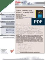 Apache. Zabezpieczenia aplikacji i serwerów WWW