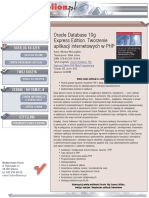 Oracle Database 10g Express Edition. Tworzenie aplikacji internetowych w PHP