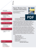 Rejestr Windows Vista. Leksykon kieszonkowy