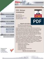 CSS. Gotowe rozwiązania