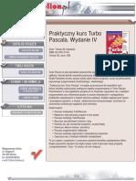 Praktyczny kurs Turbo Pascala. Wydanie IV