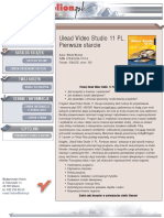Ulead Video Studio 11 PL. Pierwsze starcie