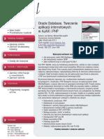 Oracle Database. Tworzenie aplikacji internetowych w AJAX i PHP