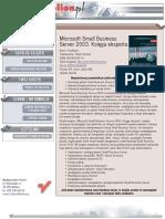 Microsoft Small Business Server 2003. Księga eksperta