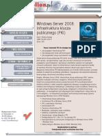 Windows Server 2008. Infrastruktura klucza publicznego (PKI)