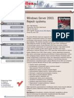 Windows Server 2003. Rejestr systemu