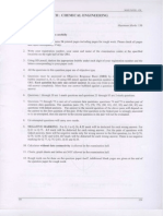 Gate Chemical- 2008 Exam Paper