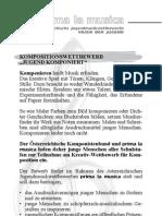 """Jugend komponiert"" prima la musica Kompositionswettbewerb 2012"
