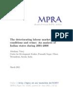 MPRA Paper 31387