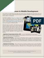 Terms Common In Mobile Development