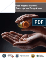 Tomblin, Goodwin Unveil Report on Combating Prescription Drug Abuse