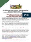 NPSOT Symposium 2011 General Info