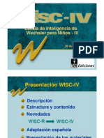 WISC-IV Diapositives TEA