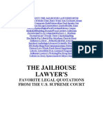 The Jailhouse Lawyer Favorite Cases