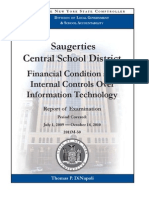 Saugerties Central School District audit