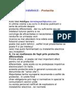 Tainele Electrotehnicii - Protectia Diferentiala
