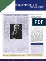 Hoover Institution Newsletter - Winter 2007