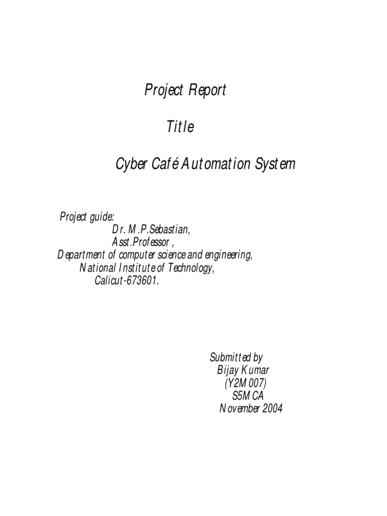 Cyber cafe automation system4 oracle database databases ccuart