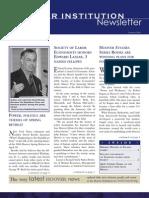 Hoover Institution Newsletter - Summer 2006