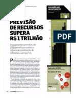 Previsão de Recursos supera R$ 1 trilhão!