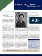 Hoover Institution Newsletter -Winter 2005