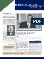 Hoover Institution Newsletter -Winter 2006